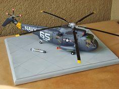 Hasegawa 1/48th scale SH-3H Seaking