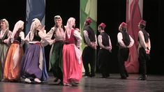 Bosnian Folk Dance Group from Chicago in 2013 Intl. Art & Language Contest