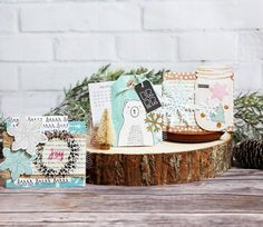 Snow & Cocoa Place Cards