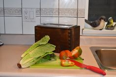 Wooden Compost Bin, Kitchen, Home, Cooking, Kitchens, Ad Home, Homes, Cuisine, Haus