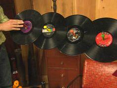 Trash to Treasure: Old Records : Archive : Home & Garden Television