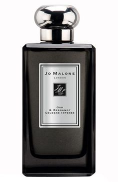 Jo Malone™ 'Oud & Bergamot' Cologne Intense available at #Nordstrom. Oud & Bergamot Cologne Precious oud, reframed. The mysterious, smoky character of this revered wood, central to Middle Eastern fragrance traditions, radiates with the clarity of crisp bergamot and an orange granite accord. Hypnotic. Alluring.