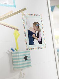 DIY-Wanddeko fürs Kinderzimmer: http://www.cewe-fotobuch.at/produkte/wanddekoration/ #diy #wanddeko #kinderzimmer #creative