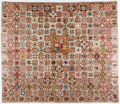 Buy online, view images and see past prices for Antique American Chintz Quilt-Top. Invaluable is the world's largest marketplace for art, antiques, and collectibles. Old Quilts, Star Quilts, Antique Quilts, Vintage Textiles, Vintage Quilts, American Quilt, Make Arrangements, Quilt Top, Quilt Patterns