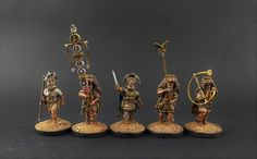 28mm Victrix Early Imperial Roman Praetorian Command. Campaign Paint Style. Tests