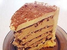 Торт творожно медовый