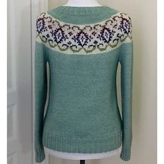 Ravelry: Kaleido-Yoke Sweater pattern by Suz Ryan Fair Isle Pattern, Favorite Color, Knitting Patterns, Ravelry, Sweaters, Birds, Clothes, Fashion, Outfits
