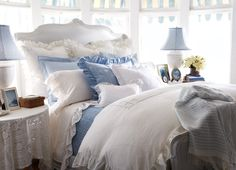 Ralph Lauren Home - Beautifully dressed bed