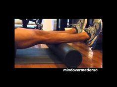Foam Roller Achilles Tendonitis 4 - Achilles Tendonitis Treatment - YouTube