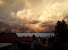 Now this is a storm cloud. Roxby Downs, South Australia  Submitted by Jason Evans   09/07/2012