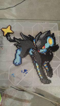 Luxray - Pokemon Perler by Neeko96