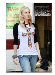 Taos Cross tee by Original Cowgirl Clothing