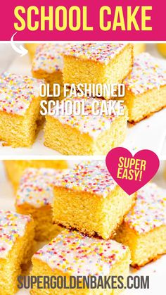 Old School Desserts, School Dinner Recipes, Easy Cakes To Make, Quick Cake, Dessert From Scratch, Cake Recipes From Scratch, Tray Bake Recipes, Baking Recipes, Mars Bar Crispy Cake