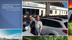 Dear Phil Cantore   A heartfelt thank you for the purchase of your new Subaru from all of us at Premier Subaru.   We're proud to have you as part of the Subaru Family.