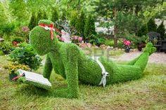 Bildergebnis für grass furniture sculptures