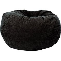 Classic Comfort Suede Bean Bag, Multiple Colors