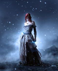 Photo Manipulate a Beautiful Snow Queen Scene | PSDFan