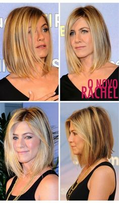 Jennifer Aniston's new hair cut.  She rocks! by JustLinnea