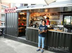 shipping container restaurant design - Google Search