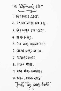 Overhauling your life all at once can be daunting. Here are some simple steps you can incorporate into your life that lead to self-improvement! Wed also like to include: smile more. Do you have any others to add? One of these everyday then make it a routine :)