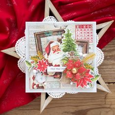 by Aggie Studio Calico, Graphic 45, Silhouette Cameo, I Card, Shabby, Scrapbooking, Gift Wrapping, Paper, Christmas