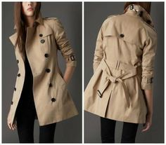 Le trench, un must have http://urbangirl-mode.fr/must-have-dressing/