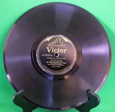 1924 Victor Shellac 78 RPM Record, The Benson Orchestra Of Chicago, Play-Rated! - $1.95