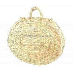Capazo oval de palma