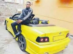The Urban Kenyan: Mohammed Ali's BMW convertible car is beautiful than all your girlfriends...Check it Out