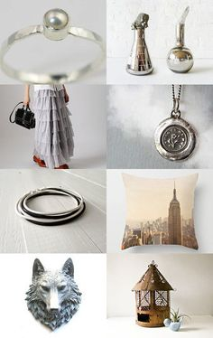Pearl , Bird Cage , And Vintage Owl.... by Elinor Levin on Etsy--Pinned with TreasuryPin.com