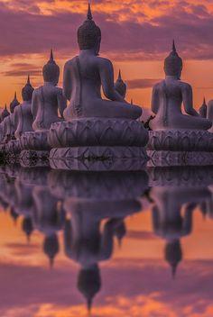 Landscape of Two pagoda at Doi Inthanon, chiangmai - Thailand