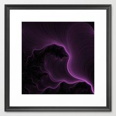 Ultra Violet Framed Art Print by ericrasmussen Cool Wall Art, Cool Walls, Ultra Violet, Framed Art Prints, Cool Stuff, Abstract, Artwork, Art Work, Work Of Art