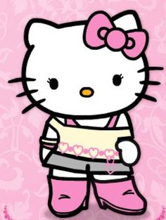 Make your Hello Kitty birthday party memorable. Create a purr-fectly fun and exciting party using Hello Kitty theme invitations, decorations, cake, and favors. Sanrio Hello Kitty, Hello Kitty Art, Hello Kitty Birthday, Kitty Kitty, Kitty Gif, Hello Kitty Pictures, Kitty Images, Little Twin Stars, Hello Kitty Imagenes