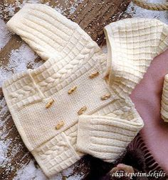 free knitting pattern: boys baby clothes models …