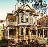 "This impeccably-restored Queen Anne-style Victorian mansion in Savannah's Landmark Historic District recently underwent a $2 million renovation and is quickly earning a reputation as one of the South's most romantic places to say ""I do."" With nearly 5,000 square feet of sumptuous interiors and 600 square feet of spacious porches, The Whitman embodies the best of Savannah, with stunning décor, a spacious courtyard and first-class service to make any wedding day perfect."
