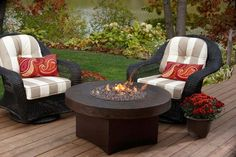 Hammered Copper Round Oriflamme Fire Table Gas Fire Pit Table - Round fire pit table and chairs
