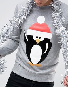 c7f9b7c9389 Jack   Jones Christmas Sweatshirt with Print