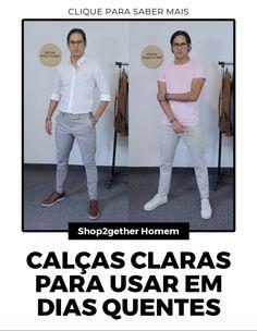 8 inspirações para você usar calça masculina no calor. Capri Pants, Suits, Fashion, Men's Pants, Men, Men's, Moda, Capri Trousers, La Mode