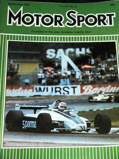 While this was going on Jones went past Piquet. Halfway around the second lap Pironi disappeared with a blown engine and so Prost led Reutemann, Jones, Piquet, Laffite, Villeneuve and Patrick Tambay (Talbot Ligier). Lotus Esprit, Formula 1, The Twenties, Celebration, German, Ebay, Deutsch, German Language