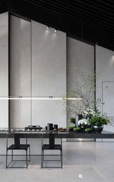Kitchen Bar Lights, Feature Wall Design, Bathroom Design Luxury, Japanese Architecture, Center Table, Wall Treatments, Model Homes, Sofa Furniture, Indoor