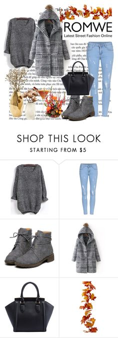 """""""Romwe contest"""" by merima-gutic ❤ liked on Polyvore featuring Nate Berkus, women's clothing, women's fashion, women, female, woman, misses and juniors"""