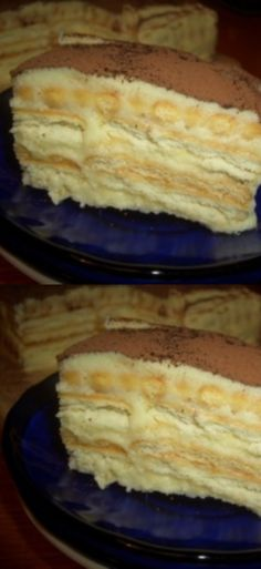 "Kuchen ""A la Tiramisu"" - sehr lecker und einfach! Baking Recipes, Cake Recipes, Dessert Recipes, Tiramisu, Russian Cakes, Food Photo, Food To Make, Bakery, Deserts"