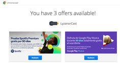 Ver Consigue 3 meses gratis de Spotify y Google Play Music gracias a Chromecast