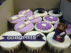 Graduation Cupcakes by Liez's cupcake, via Flickr