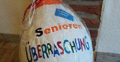 ❤ Senioren Überraschung ❤         Kinder Überraschung mal ganz anders.     Viele haben bereits Ostereier, Schalen u.v.m   aus Ballons und ...