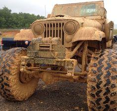 Jeep Muddy Monday!