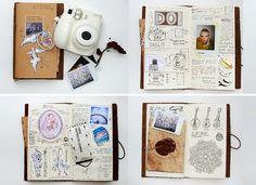 Cute moleskin / smash journal