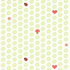 Cotton Käfer Im Beet 1 - Baumwolle - hellgrün