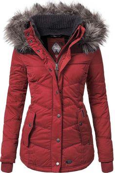 Khujo Damen Kapuzenjacke Winterjacke Parka Winsen rot Neu Gr.XL | Kleidung & Accessoires, Damenmode, Jacken & Mäntel | eBay!