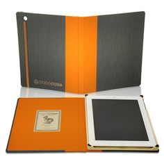 DODOcase for iPad 3 and iPad 2 - Granite Poppy - outfitYOURS.com